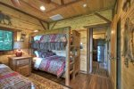 Twin Bunk Beds in the Guest House